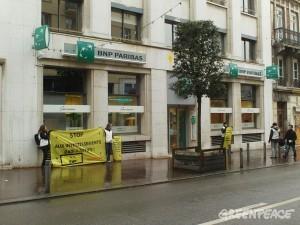 Financements irresponsables de la bnp action de for Compagnie francaise d assurance pour le commerce exterieur